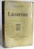 Lazarine. Bourget Paul