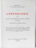 Anthologie : De la Société académique des arts libéraux de Paris. Claude Cotti  Société Académique Des Arts Libéraux De Paris