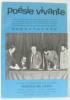 Poésie Vivante  journées internationales de Poésie: poètes de Cuba  poésie Albanaise  poésie Chinoise  Les lauréats du concours national de la M.J.C. ...