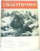 L'illustration n°5055 27 janvier 1940 (journal hebdomadaire universel  L'image de la déroute  la débacle russe en finlande  en patrouille sur le front ...