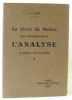 Le livre du maître pour l'enseignement de l'analyse (langue française). Goby