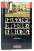 Chronologie de l'histoire de l'europe. Boudet Jacques