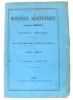 Moniteur Scientifique du Docteur Quesneville  Journal Mensuel  20e année de Publication 3e série Tome VII 421e Livraison - Janvier 1877. Quesneville