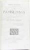 Les parisiennes (en quatre tomes  complet). Houssaye