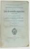 Liste des nouvelles acquisitions année 1920  suivi d'une liste d'ouvrages techniques pour les apprentis (bibliothèque municipale de Paris). ...