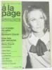 A la page  romans - théâtre - récits - nouvelles n36 1967 (le voyage du père  une fois par semaine). Collectif