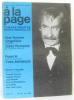 A la page  romans - théâtre - récits - nouvelles n35 1967 (une femme singulière  Point H). Collectif