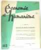Économie et humanisme XVIIe année n°115 supplément annuel 1958. Malley