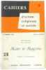 Cahiers d'action religieuse et sociale - 15 septembre 1961  Encyclique de S.S. Jean XXIII Mater et Magistra  extraits et commentaires n°328. Collectif