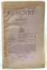 Mercure de France 31e année tome CXLI n°530 - 15 Juillet 1920. Vallette (directeur)
