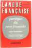 Poétique du vers français (Langue française N°23). Meschonnic