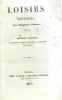 Loisirs poetiques - seconde edition augmentee de pieces nouvelles et d une notice biographique -----. Violeau