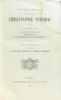 Oeuvres choisies du chanoine Christophe Schmid - quatrième série - Le bon Fridolin  Théodora  La guirlande de Houblon. Schmid
