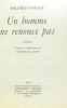 Mildred Savage. Un Homme ne renonce pas : Roman traduit de l'américain par Colette M. Huet. Mildred Savage  Colette-Marie Huet