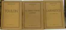 Témoignages - Toulon - Le crime contre l'esprit - l'Armistice (pages non coupées). FARGE Yves & ARAGON Louis & GIRON Roger