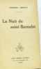 La nuit de la Saint Barnabé. Arnoux
