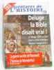 Aventures de l'histoire n°9. deluge: la bible disait vrai! / la guerre secrete de roosevelt / l'homme de neanderthal. Collectif