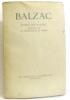 Etudes sur M.Beyle Analyse de la chartreuse de parme. Balzac