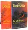 La Chaloupe tome I et II: le talisman + l'aventurine (tome premier et second). Boissard  Janine