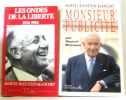 Les Ondes De La Liberte (Bleustein-Blanchet) + Monsieur publicité (par marcel germon). Bleustein-Blanchet M  Germon