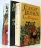 Lot de 3 livres: Les pérégrines  Les amours blessés  La chambre des dames. Bourin