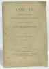 Louise: roman musical en quatre actes et cinq tableaux (1900). Charpentier