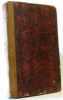 Oeuvres complètes de M. le Vicomte de Chateaubriand - tome onzième  génie du Christianisme (tome I). Chateaubriand