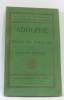 Adolphe et choix de discours. Benjamin Constant
