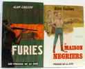 Deux livres: Furies + La maison des négriers. Caillou  Alan