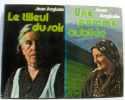 Deux livres: Une pomme oubliée + les tilleul du soir. Anglade