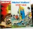 2 BDs Michel Vaillant: Steve & Julie + Rallye sur un volcan. Graton Jean