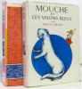 2 livres: Mouche et les visions bleus + Mouche au studio. Certon