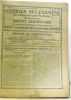 Courrier des examens de l'enseignement primaire - 40e année (du n°1 1er octobre 1924 au n°24 15 septembre 1925). Tartière (directeur)