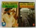Lot de 2 livres: Le train de 16h50 + cinq heures vingt-cinq. Christie