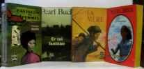 4 livres: Pavillon de femmes; le roi fantôme; La mère; Pivoine. Buck