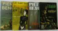 Lot de 4 livres: Les agriates; Fabrice; L'atlantide; le lac salé. Benoît