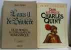 Neuf livres sur les Rois d'Europe: France  Italie Espagne  Allemagne: Louis XIV  Charles Quint  Henri IV Catherine de Médicis  Louis II de Bavière  ...