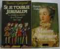 Onze romans historiques  trois livres d'histoire en sus.: Madame de Pompadour  Si je t'oublie Jérusalem  Ninon de l'enclos  La vengeance de Richelieu  ...