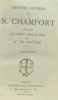 Oeuvres choisis de N. Chamfort publiées avec préface   notes et tables par M. de Lescure - tome second. Chamfort