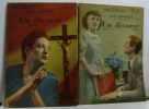 Un divorce: tome un et deux (deux volumes n°152-153) + un crime d'amour (n°132). Bourget