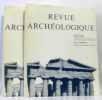 Revue archéologique  1993 fascicules premier et second. Le Roy  Gros