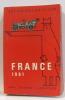 France 1961 les guides de poche.