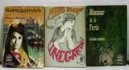 Koenigsmark + Monsieur de la fierté + Lunegarde; trois volumes. Benoit