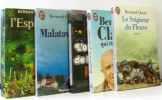 5 romans: l'espagnol + malataverne + l'ouvrier de la nuit + qui êtes-vous? + le seigneur du fleuve. Clavel