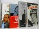 10 livres politique autour de Jacques Chirac dont: le résident de la république La république des cadets; le dauphin et le régent; de si bons amis; ...
