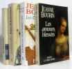 Ensemble de 4 romans; Très sage Héloïse  le jeu de la tentation  les compagnons de l'éternité  les amours blessées. Bourin