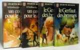Le Gerfaut des Brumes (2 vol.) + Un collier pour le diable (2 Vol.). Benzoni