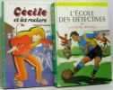 L'école des détectives + Cécile et les rockeurs (2 vols) - bibliothèque verte. Bayard  Georges