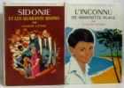 Sidonie et les quarante bisons + l'inconnu de Mimosette plage (2 vols) - bibliothèque rose. Cenac  Claude