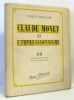 Claude Monet et l?impressionnisme - non coupé (24 planches hors texte en héliogravure). Mauclair